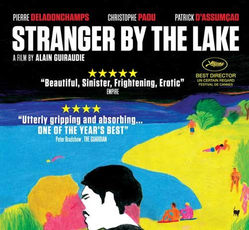 """DVD Cover of """"Stramger by the lake:"""