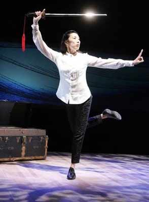 """Surfing My DNA"" with Jodi Long at the NJ Repertory Theatre in Long Branch"