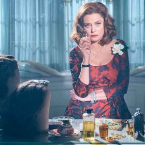 "Susan Sarandon plays ""Bette"" on the FX hit TV series ""Feud: Bette and Joan"""