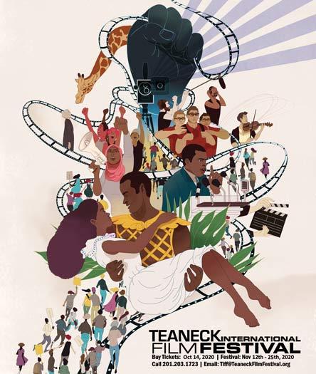 Teaneck Film Festival 2020 poster