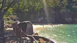 Puerto Vallarta secluded beach nearby