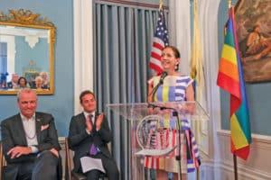 New Jersey First Lady Tammy Murphy