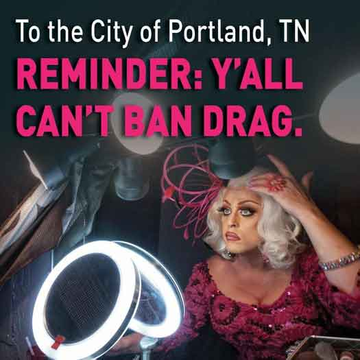 Tennessee town attempts to ban drag shows