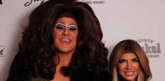 """""""Real Housewives of NJ"""" star Teresa Giudice at Vallani in Philadelphia"""