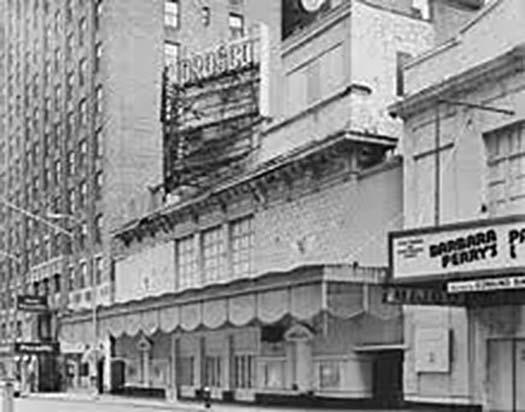 The Morosco Theatre historic photo