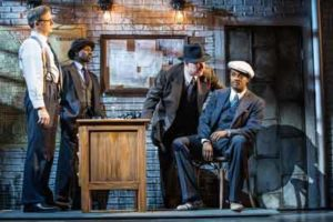 """The Sting"" at Paper Mill Playhouse. Photo by Jerry Dalia"