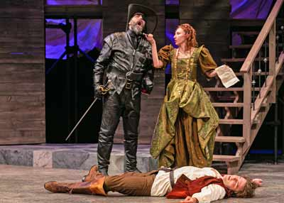 """The Three Musketeers"" with Jeffrey M. Bender, Anastasia Le Gendre and Cooper Jennings"