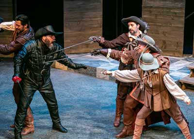 """The Three Musketeers"" with John Keabler Jeffrey M. Bender, Alexander Sovronsky, Paul Molnar and Andrea Morales"