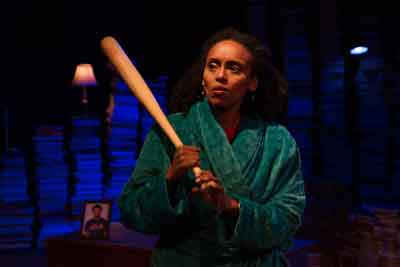 """The Assignment"" at Luna Stage with Antu Yacob. Photo by Jody Christopherson"