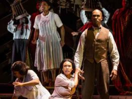 """The Color Purple"" at Paper Mill Playhouse photo by Emma Zimmerman for MurphyMade."