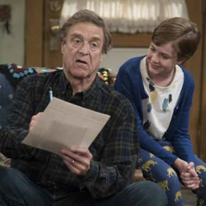 """""""The Conners"""" scene from the reboot of the reboot."""