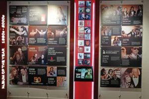 The GRAMMY Museum exhibit of Albums of the Year