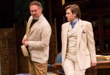 "Chris Kipiniak (Rev. Canon Chasuble) and Federico Rodriguez (John Worthing) in ""The Importance of Being Earnest"" All photos by T. Charles Erickson"