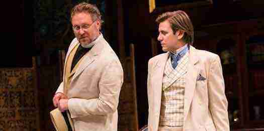 """Chris Kipiniak (Rev. Canon Chasuble) and Federico Rodriguez (John Worthing) in """"The Importance of Being Earnest"""" All photos by T. Charles Erickson"""