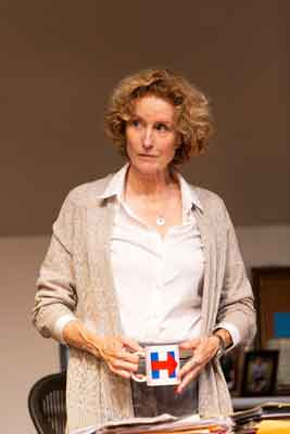 """The Niceties"" at McCarter Theatre scene with Lisa Banes. Photo by T. Charles Erickson"