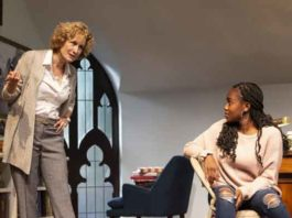 """The Niceties"" at McCarter Theatre with Lisa Banes and Jordan Boatman. Photo by T. Charles Erickson"