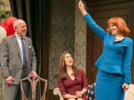 """The Outsider""at Paper Mill Playhouse photos by Jerry Dalia"