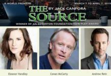 """The Source"" is playing at at New Jersey Repertory Company at the Lumia Theatre in Long Branch"