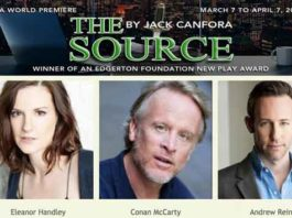 """""""The Source"""" is playing at at New Jersey Repertory Company at the Lumia Theatre in Long Branch"""
