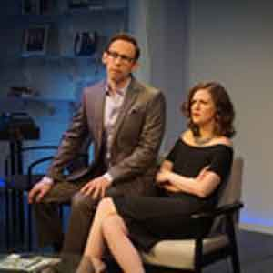 "Scene from ""The Source"" at New Jersey Repertory Company at the Lumia Theatre in Long Branch"