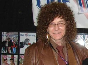 Toby Grace at the Javits Center in NYC for the GLBT-EXPO in 2012