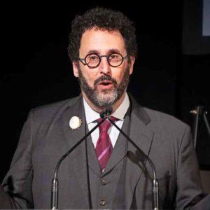 Tony Kushner receives the Activism Jewish Culture Award at The Workmens Circle Winter Benefit. Photos by Alina Oswald.