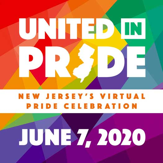 United in Pride online event banner ad