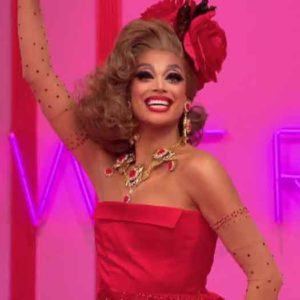 "Valentina on ""RuPaul's Drag Race"" 2017."