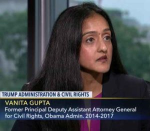 Vanita Gupta is President of the Leadership Conference on Civil and Human Rights