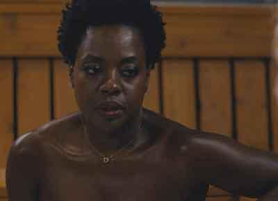 "Scene from ""Widows"" with Viola Davis."