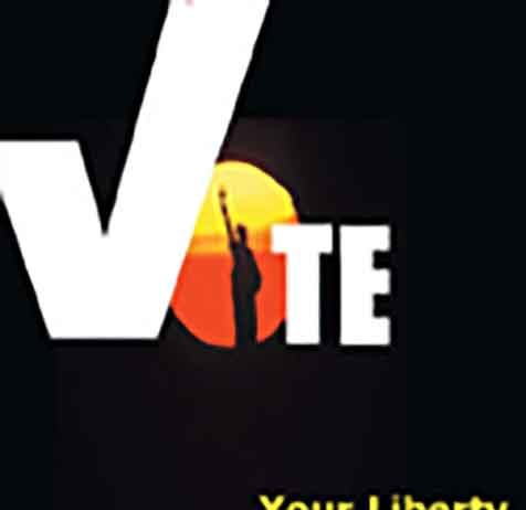 Vote, Your liberty depends on it