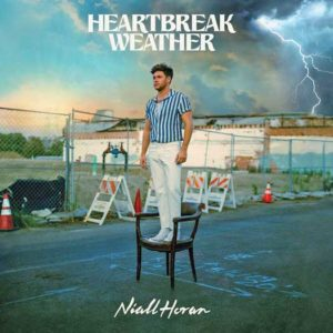 "CD cover of Niall Horan's sophomore album ""Heartbreak Weather"""