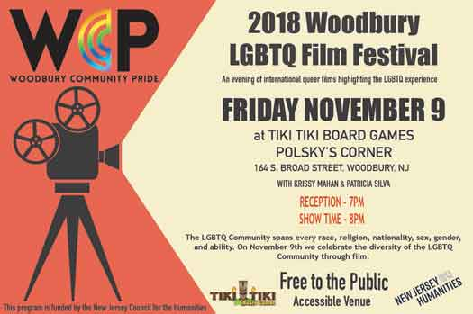 LGBTQ Film Festival in Woodbury November 2018
