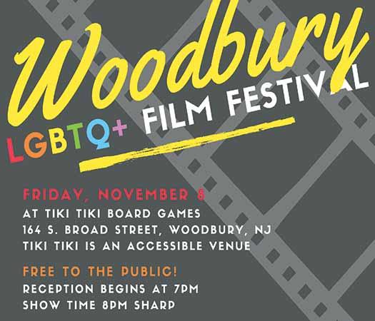 Woodbury Community Pride LGBTQ Film Festival 2019 poster