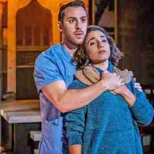 "Scene is ""Yasmina's Necklace"" at Kean Stage"