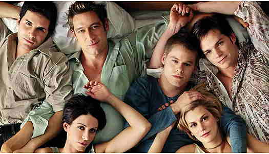 Picture of the original cast of Queer as Folk