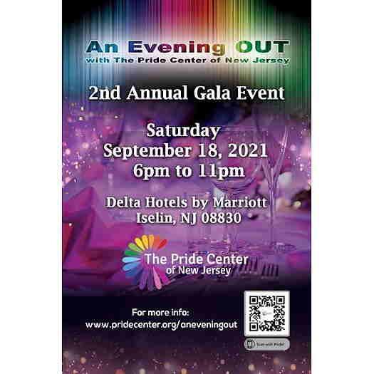 An Evening Out II event text flyer