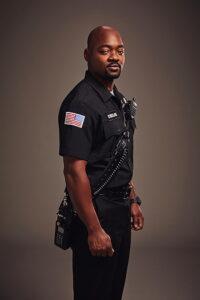 Brian Michael Smith in uniform