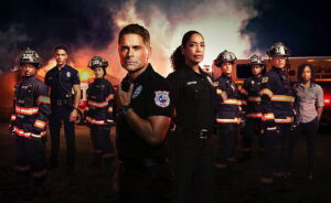 Fox's 9-1-1: Lone Star actors in uniform