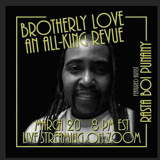 Brotherly Love: An All King Revue flyer