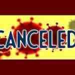 Word Canceled over COVID19 cells image