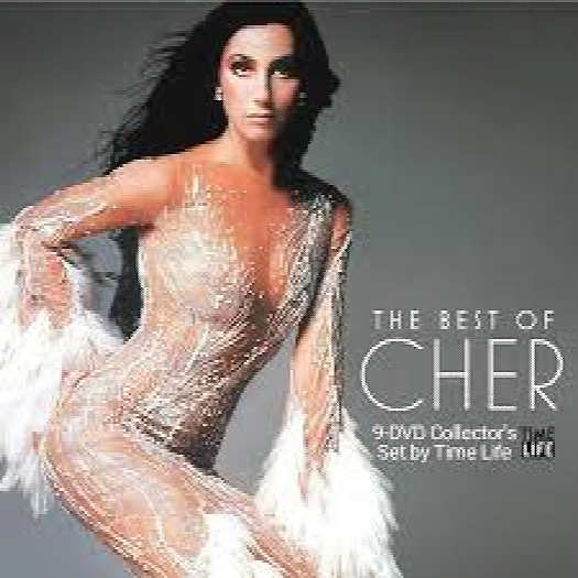 The best of Cher cover art
