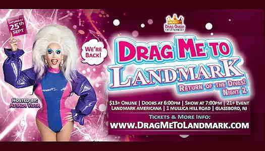 Astala Vista drag queen on the cover