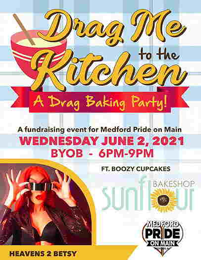 Drag Me To The Kitchen event flyer