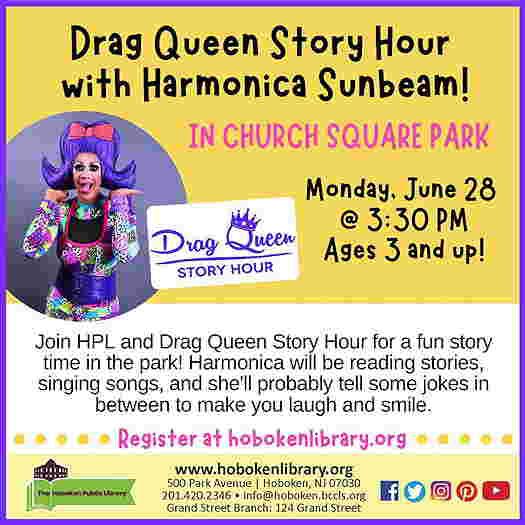Harmonica Sunbeam on the event flyer