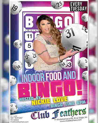 Election Day Bingo Hosted by Nickie Love