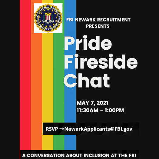 FBI Pride Fireside Chat logo