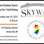 Garden State Rainbow Sports Charity Par 3 Golf Outing At Skyway Golf Course In Jersey City