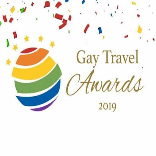 2019 Gay Travel Awards logo