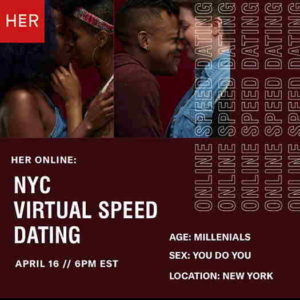 NYC Virtual Speed Dating